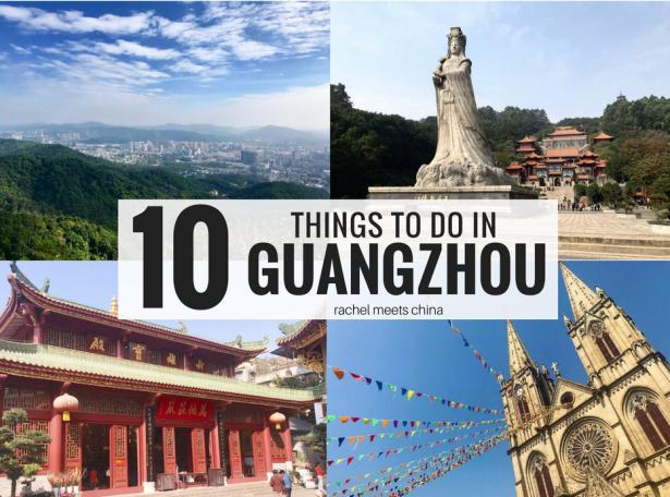 10 THINGS TO DO IN GUANGZHOU