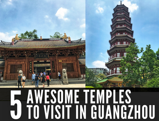 5 temples