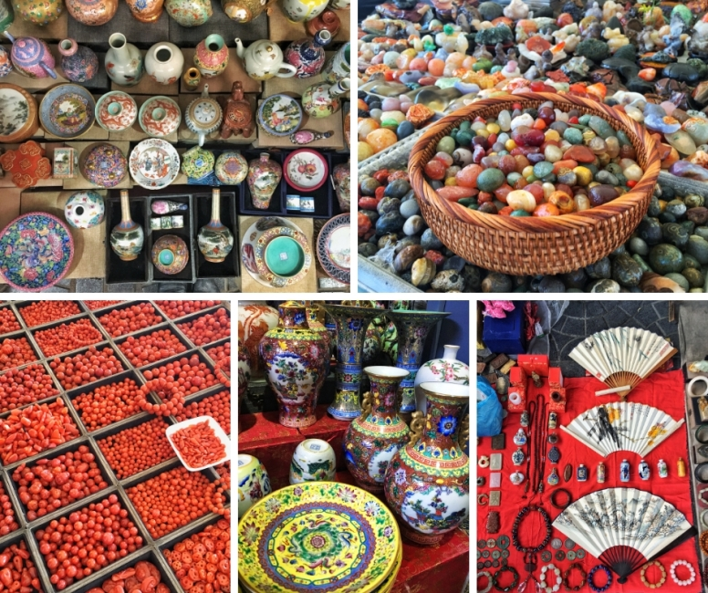 panjiayuan market collage