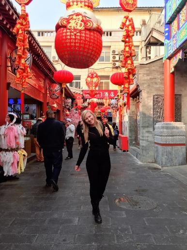 tanghulu wangfujing street