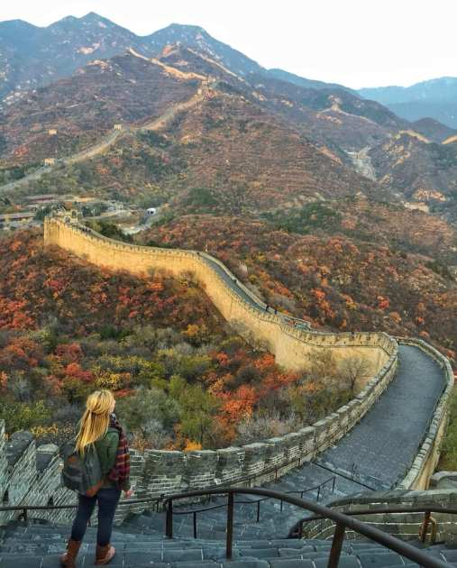 badaling autumn november