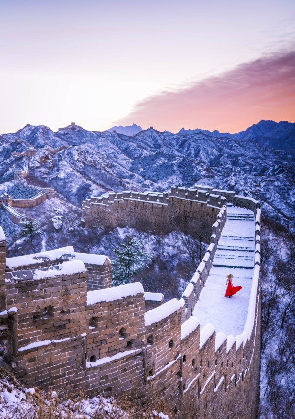 Great Wall My Love Snow Jinshanling
